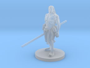 Half Orc Male Monk v2 in Smooth Fine Detail Plastic