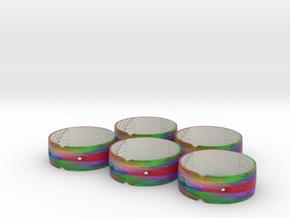 Sundial Bangles 49N, 49N, 48N, 47N, 43N in Full Color Sandstone
