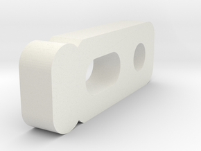Optional 3mm spacer to go with 'Schumacher KF / KF in White Natural Versatile Plastic