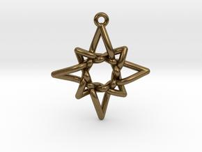 Navigator Pendant in Natural Bronze
