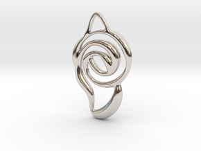 Achieve unity  in Rhodium Plated Brass