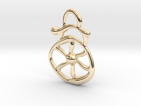 Electric wind  in 14K Yellow Gold