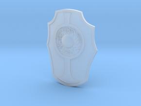 GalaxyWarriorsShield1VintageSize in Smooth Fine Detail Plastic