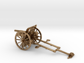 1/48 IJA Type 41 75mm Mountain Gun in Natural Brass