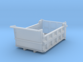1/87 10-12yd (12ft) dump body  in Smooth Fine Detail Plastic
