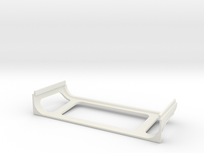 D90 Rear Cab Lower part in White Natural Versatile Plastic