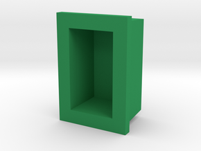 Darth Vader Belt Boxes Green light Lens in Green Processed Versatile Plastic