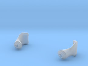 late version air scoops for 1/20th McLaren MP4/4 in Smoothest Fine Detail Plastic