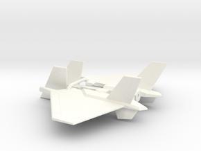 DirJ20 Wings for CW Skydive in White Processed Versatile Plastic