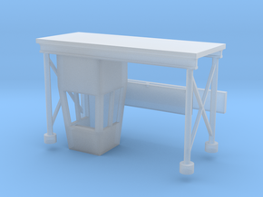 'N Scale' - Drive-In Movie Theatre Ticket Booth in Smooth Fine Detail Plastic