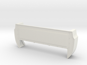 Bed Extension -12.6 In. Wheelbase for RC4WD Blazer in White Strong & Flexible