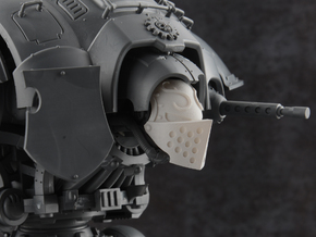 Custodian Guard - Face Plate in Smooth Fine Detail Plastic