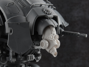 Death Guardian - Plague Mask in Smooth Fine Detail Plastic