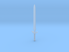 Galaxy Warriors Sword in Smooth Fine Detail Plastic