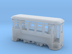 009 Electric Tramcar/ Coach in Smooth Fine Detail Plastic
