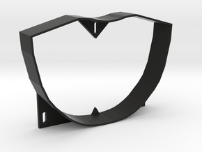 Pinbot Backbox Visor Baffle - Stand Alone in Black Natural Versatile Plastic