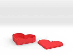 HEART JEWELER  in Red Processed Versatile Plastic