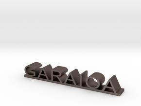 GARAIOA in Polished Bronzed Silver Steel