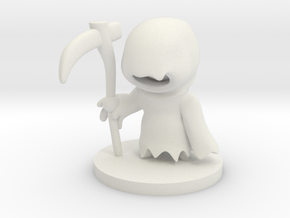 Reaper in White Natural Versatile Plastic