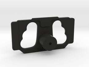 DJI Controller Phone / Tablet Mount Plate Insert in Black Natural Versatile Plastic