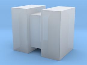 1:43 DEAGO FALCON YT1300 ANH CARGO BOX MODEL F in Smooth Fine Detail Plastic