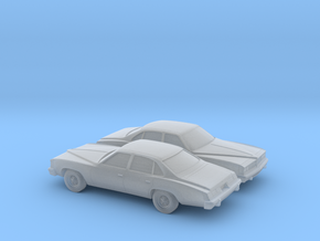 1/160 2X 1976 Pontiac Grand LeMans Sedan in Frosted Ultra Detail