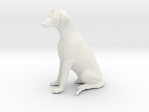 Printle Thing Dobermann - 1/24 in White Natural Versatile Plastic