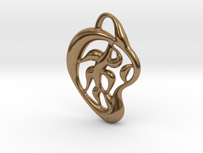 Pattern of nature in Natural Brass