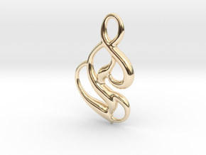 Seed of magic in 14K Yellow Gold
