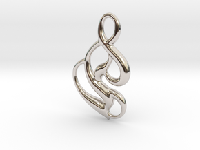 Seed of magic in Rhodium Plated Brass