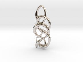 Messy thoughts in Rhodium Plated Brass