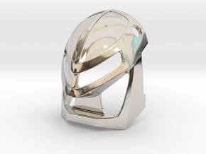 [Metal] Kanohi Miru in Rhodium Plated Brass