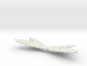 Micronauts Galactic Mutant Wings in White Natural Versatile Plastic