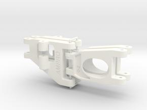 056001-01 Falcon Upper & Lower Arms in White Processed Versatile Plastic