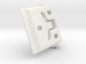 Shade Bracket 305 - Gp in White Premium Versatile Plastic
