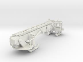 1/87 75' Tower Ladder Boom in White Natural Versatile Plastic