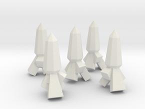 n0n_Chr-rana_Carrot_01_v1.1 in White Natural Versatile Plastic: Small
