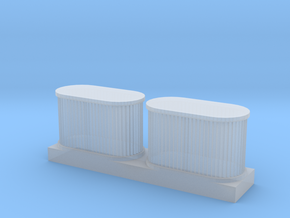 1/64 air filters  in Smooth Fine Detail Plastic