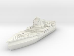 Soldat Class Light Cruiser in White Strong & Flexible