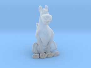Printle Thing Scooby Doo - 1/87 - wob in Smooth Fine Detail Plastic
