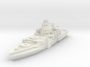 Meister Class Battleship in White Natural Versatile Plastic