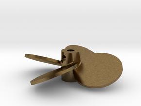 """1.75"""" - BBP 25º RH in Natural Bronze"""