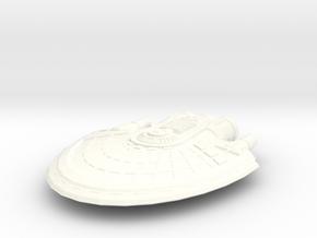 Jupiter 2 in White Processed Versatile Plastic