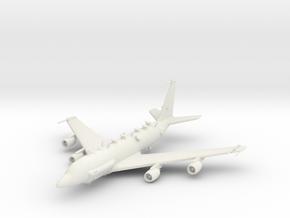 Boeing RC-135 in White Natural Versatile Plastic