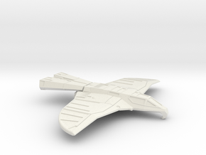Hawk Fighter (Buck Rogers) in White Natural Versatile Plastic