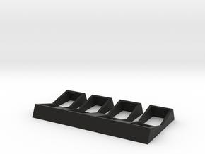 Darth Vader Rocker functional base in Black Natural Versatile Plastic