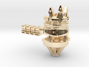 NWL Kanan - Master Part3 Lightsaber Chassis in 14k Gold Plated Brass
