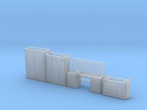 1:64 Workshop Interior Details in Smooth Fine Detail Plastic