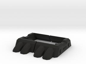 POTP Grim Lock Shoes in Black Strong & Flexible