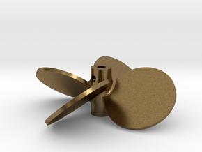 """2.25"""" - BBP 40º RH in Natural Bronze"""